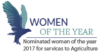 Women of the Year - Nominated 2017 for services to Agriculture